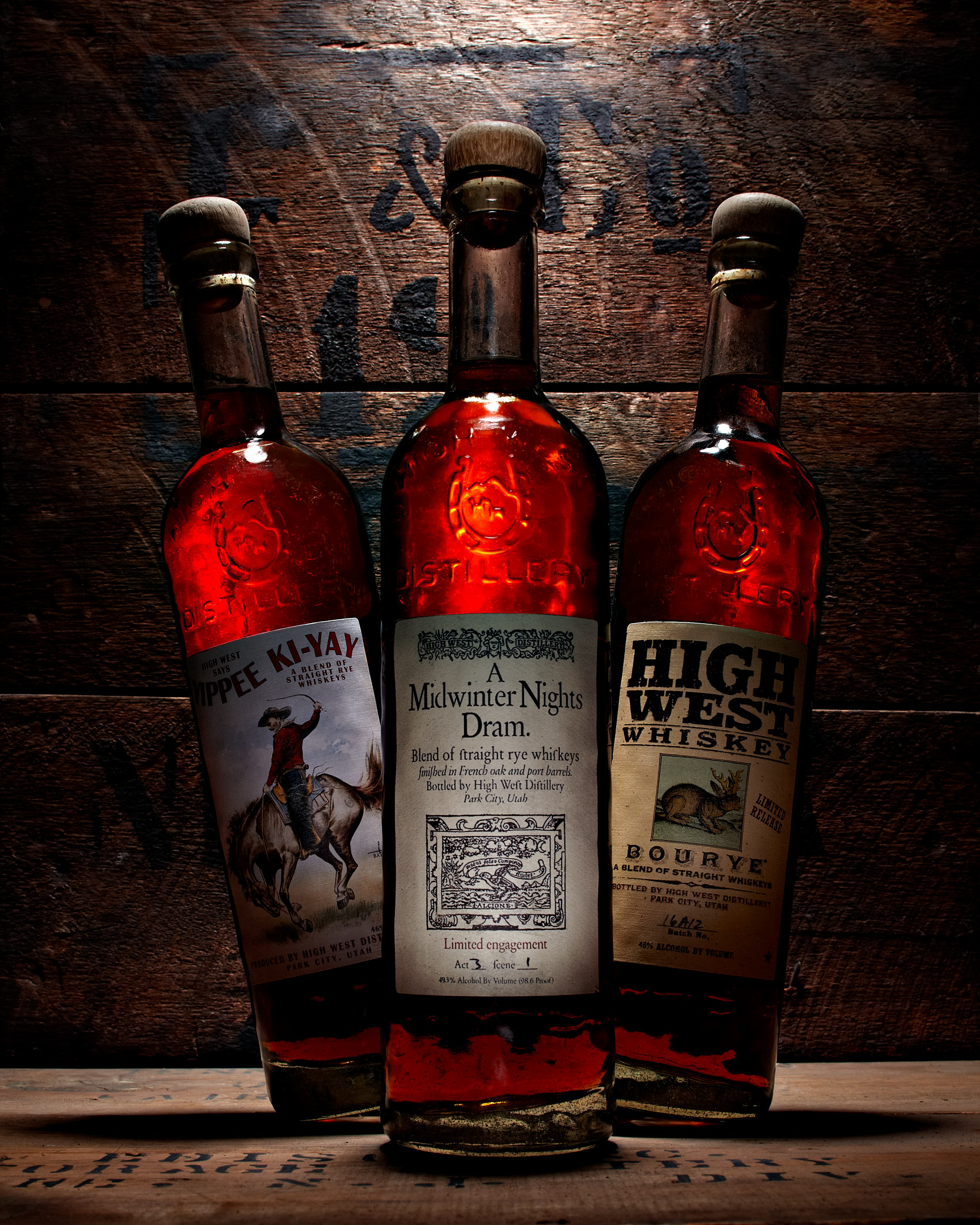 High West Whiskey Photography