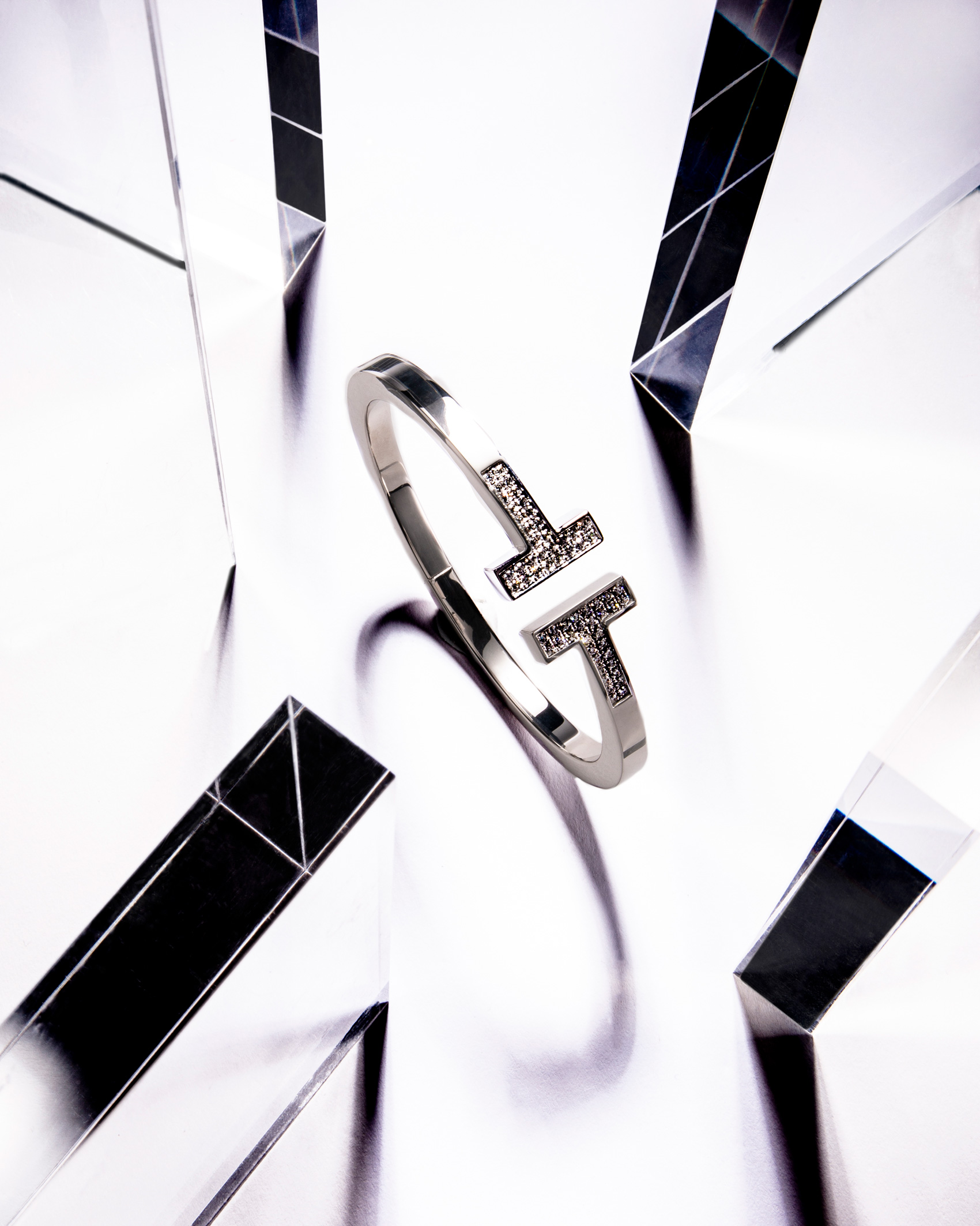 Tiffany & Co. T Diamond Cuff