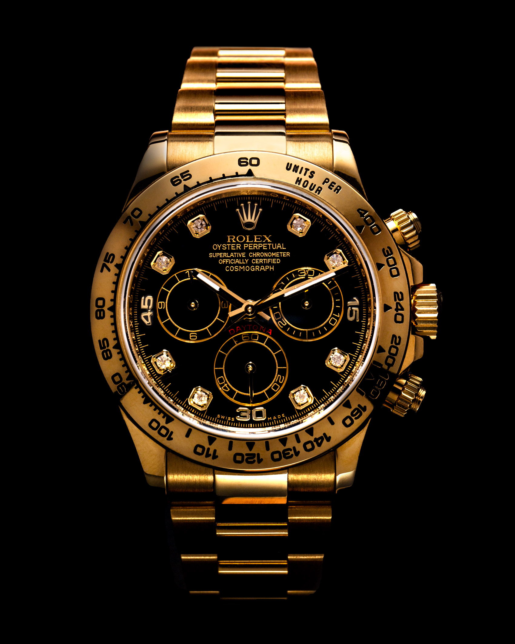 Gold Rolex Oyster Watch