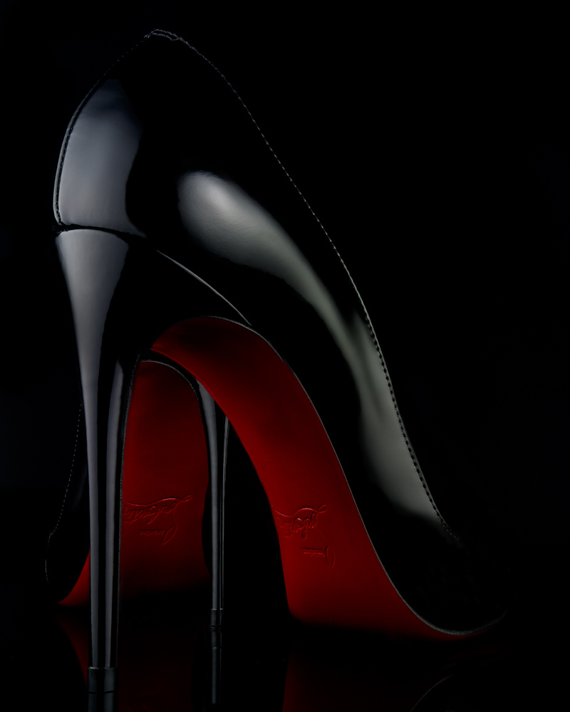 NYC Advertising Photographer John Ciombor Louboutin Shoes